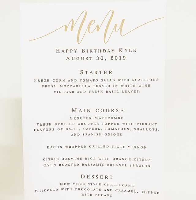 LOVING this elevated dinner party menu // fresh grouper + filet mignon 🍽