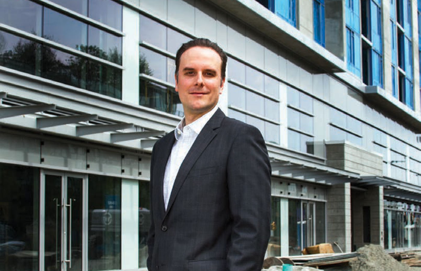 Jesse Galicz is vice president of development for Vanprop Investments, which owns Lansdowne Centre
