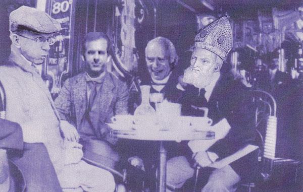 - The Gang at the Café de Paris
