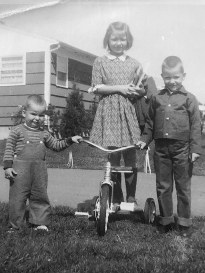 At home, as the only HSP, I was the observer in the family; As such I never felt understood or valued. - That's me on the far right.