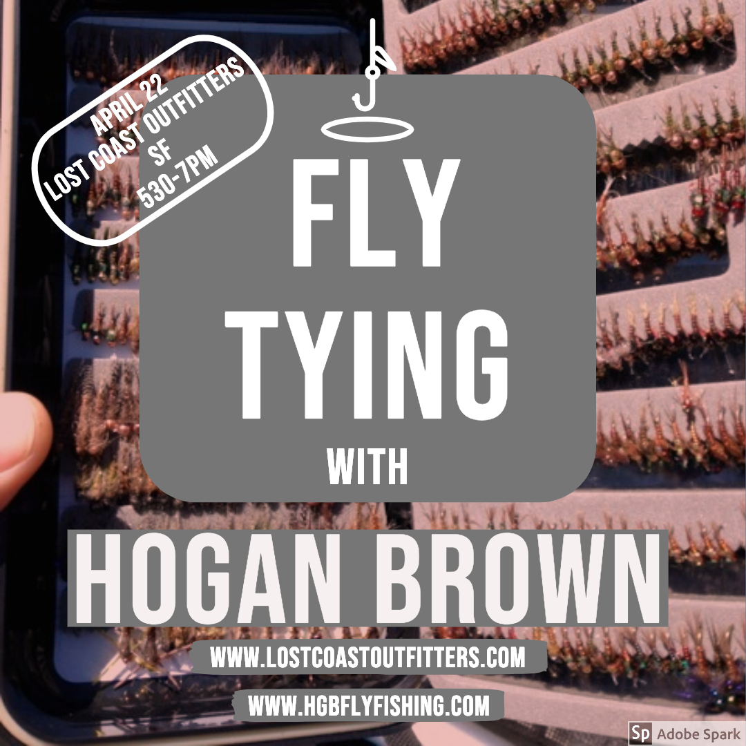 Reports and News   17 April 2019 — Hogan Brown Fly Fishing
