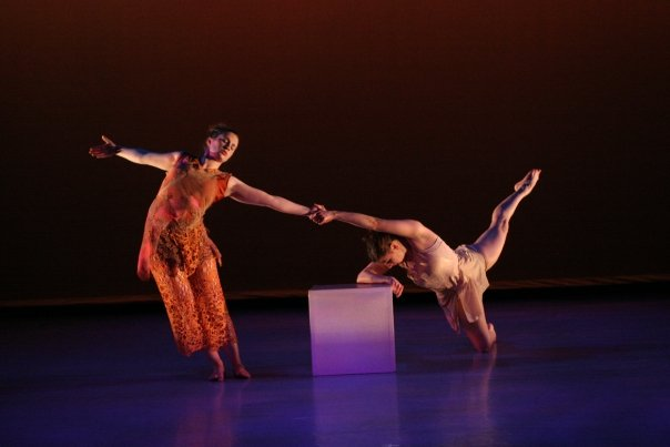 Stacey Tytler Raab and dancer