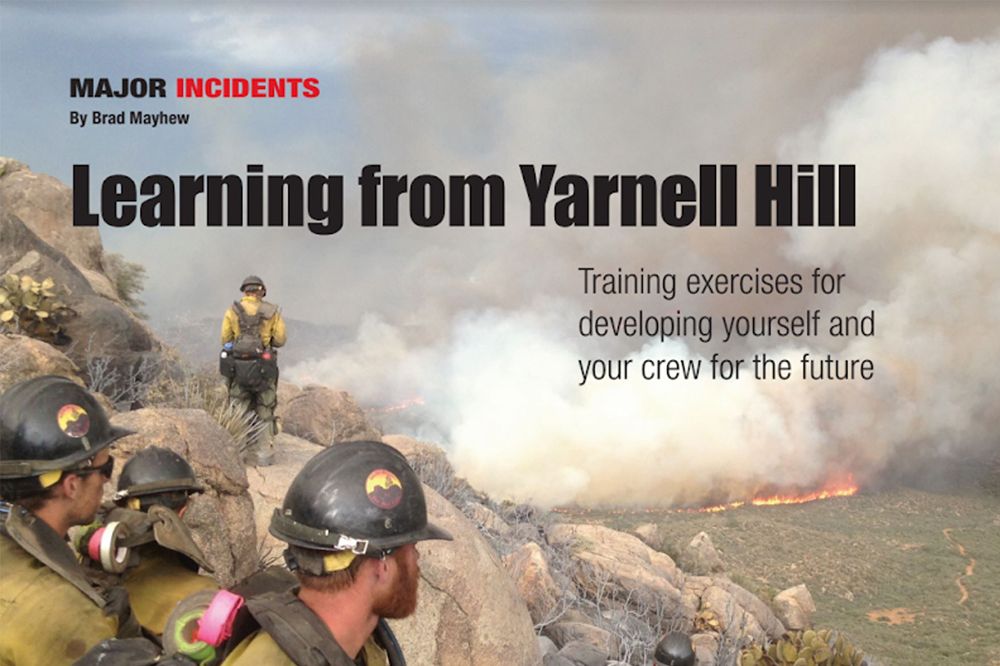 Short article on Yarnell Hill fire with crew discussion questions (Firehouse Magazine, June 2018).