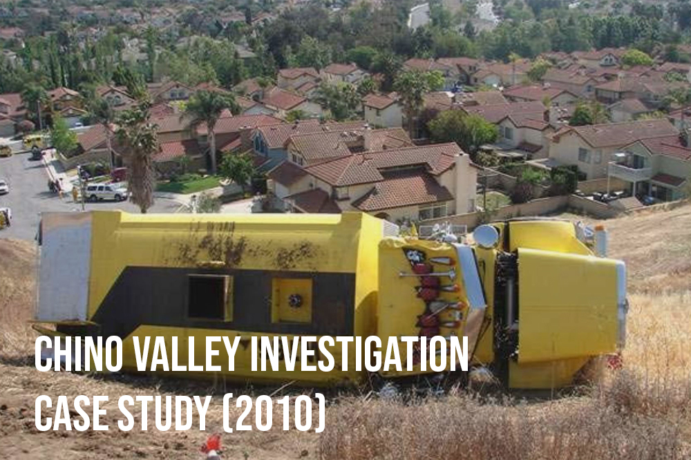 An investigation of an investigation. Southern California.