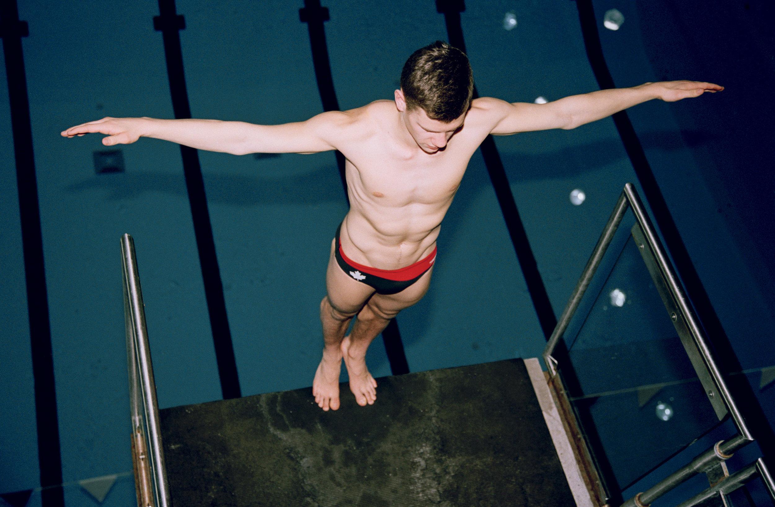 Vincent Riendeau, Canadian Olympic Diver