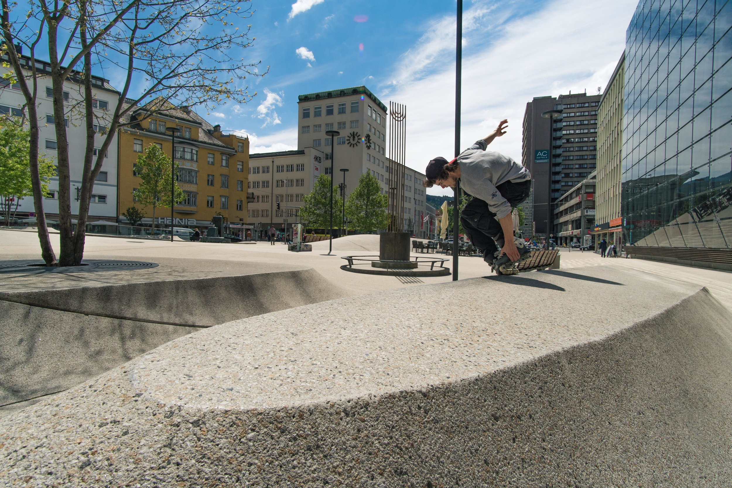 Michael Witzemann - Birthday - 13 December 1996Hometown - Feldkirch, AustriaCurrent residence - Feldkirch, AustriaSponsors - Bladelife Clothing, SkateSolution, RemzFavorite section of all time - Chris Haffey - Killer BootsFavorite skater of all time - Sean Kelso, Billy O'Neil, Danny BeerFavorite activities outside skating - Anything that challenges me mentally, pretty much into bouldering right now.