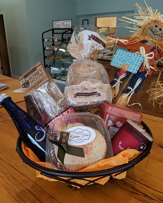 Stop by today to enter our raffle for this incredible Gluten Free Basket valued at over $70! As an added bonus, 🔥TODAY ONLY🔥 receive 10% off your Thanksgiving order if pre-ordered in person and paid in full 🔥TODAY ONLY🔥