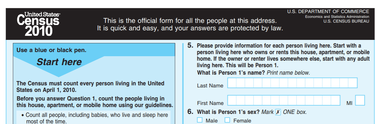 Since 2010, several changes have been made to the questions for the 2020 Census. They include a revised question about same-sex partners and new write-in boxes following race groups. However, the form will not include a citizenship question, as sought by the Trump Administration.
