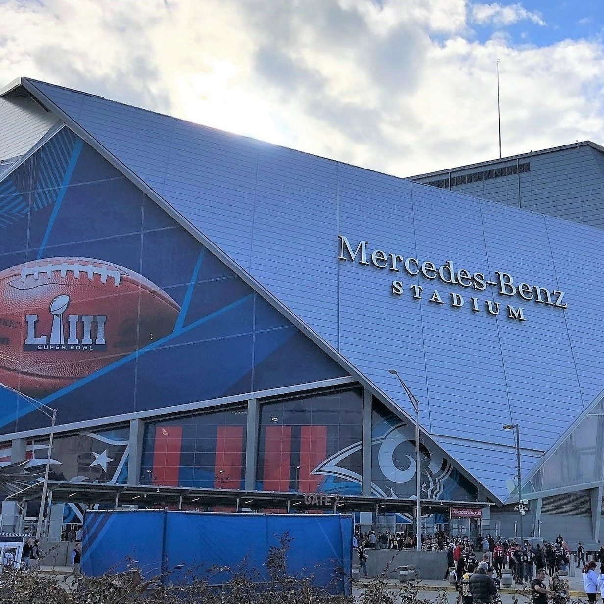 mercedes benz stadium in atlanta