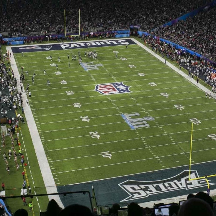 super bowl lii field