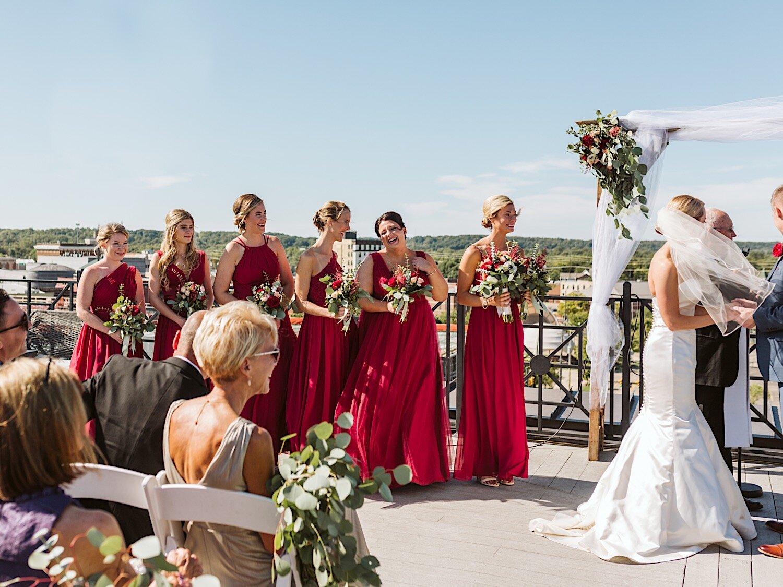 Wedding ceremony in Kalamazoo