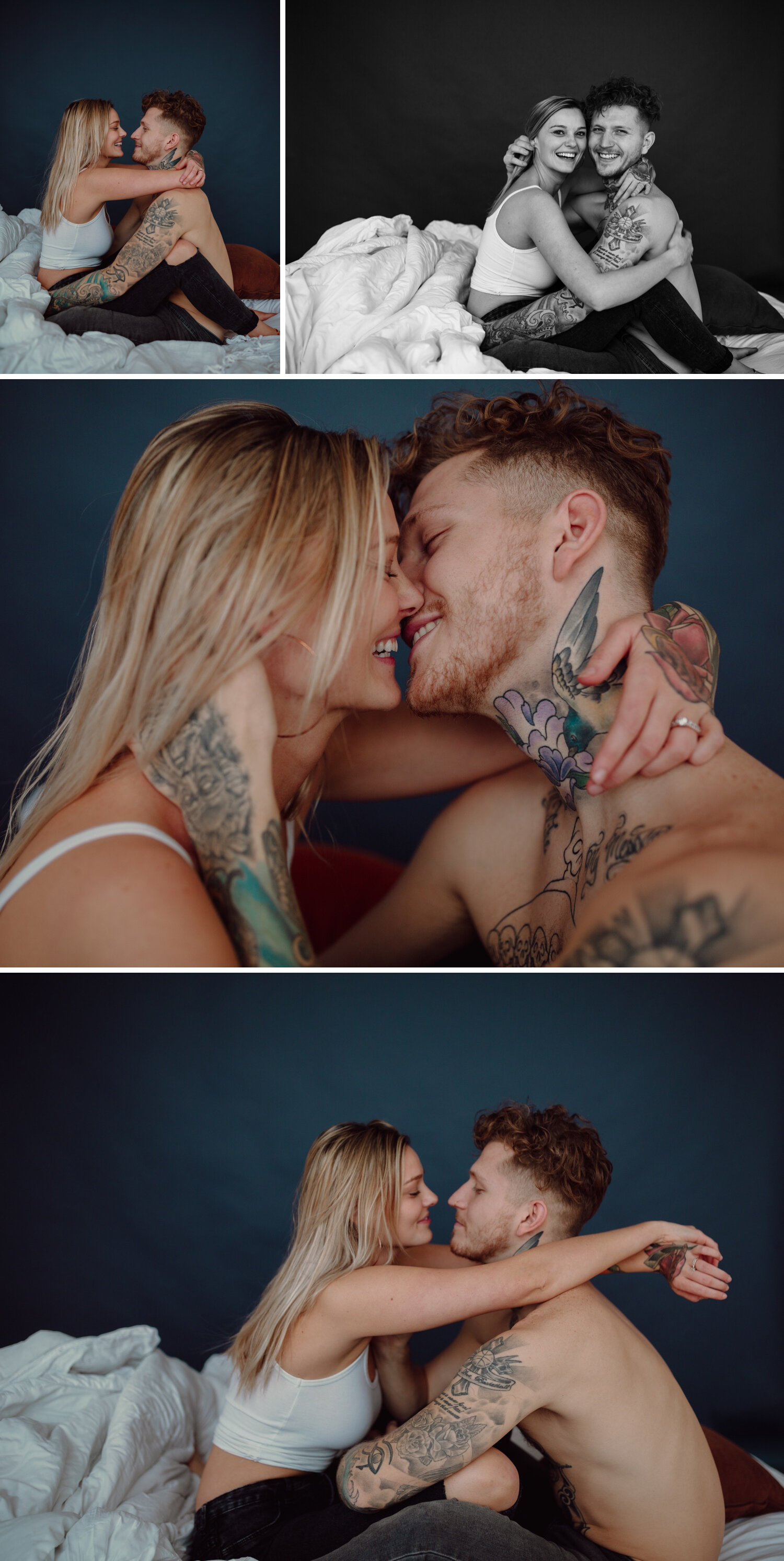 Intimate couple photos