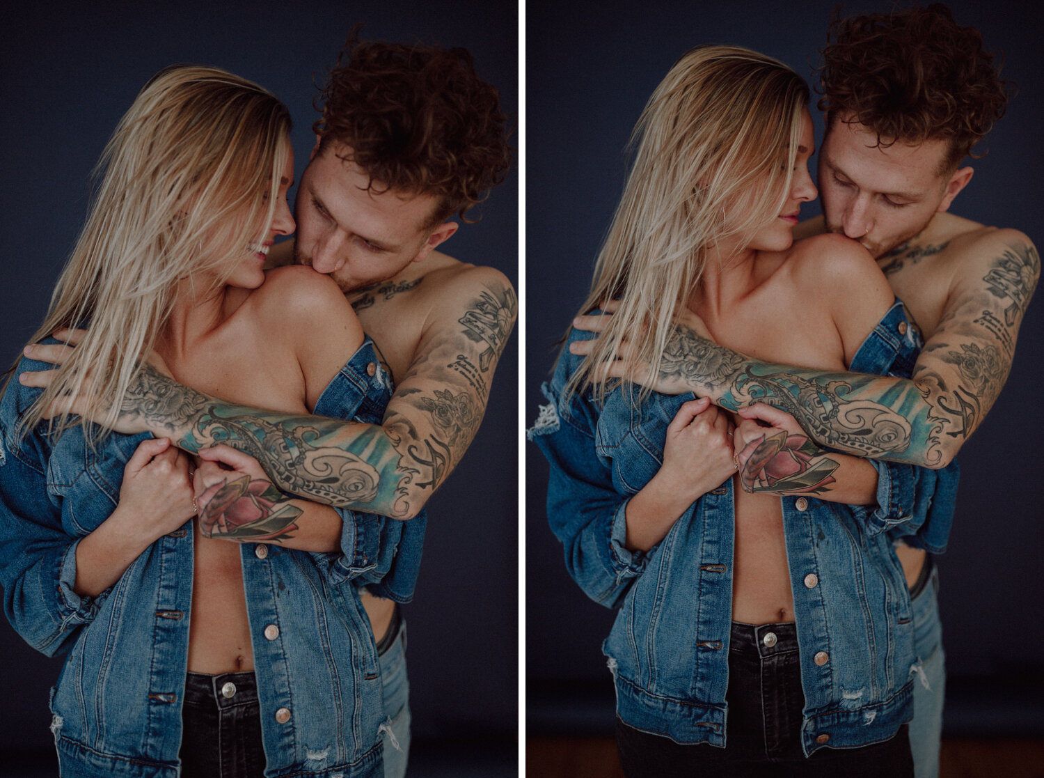 Intimate engagement pictures