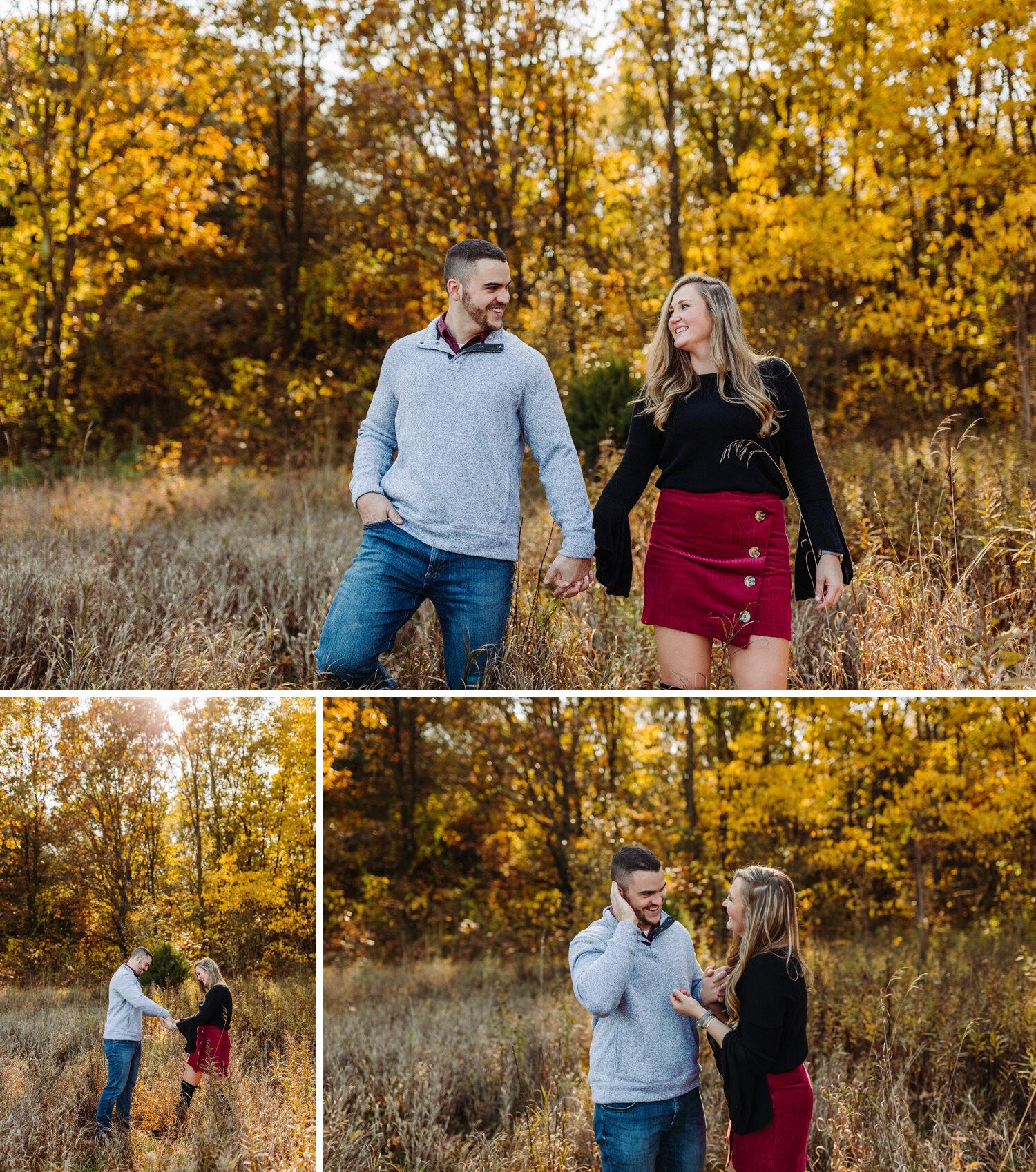 Kalamazoo engagement photographer