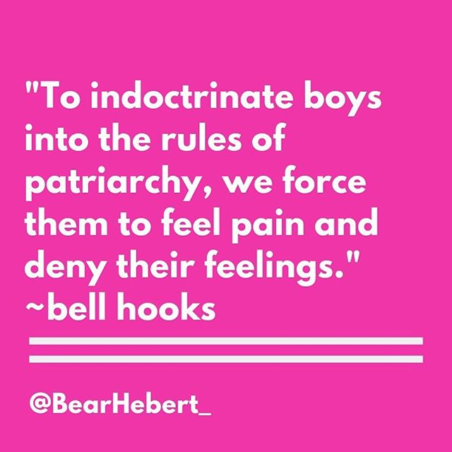 #bellhooks  Undoing Patriarchy  8-week course for men+ Oct 21-Dec 9 Undoingpatriarchy.com