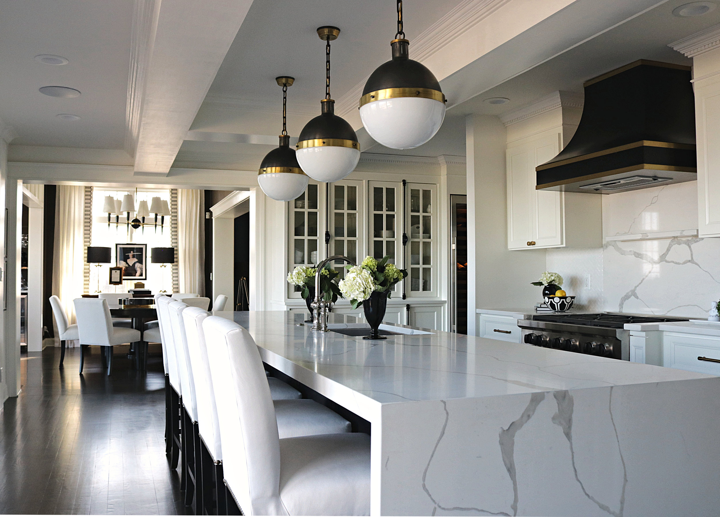 Kelle Dame Interiors Black and Brass Hood Kitchen Design Josh Young.JPG