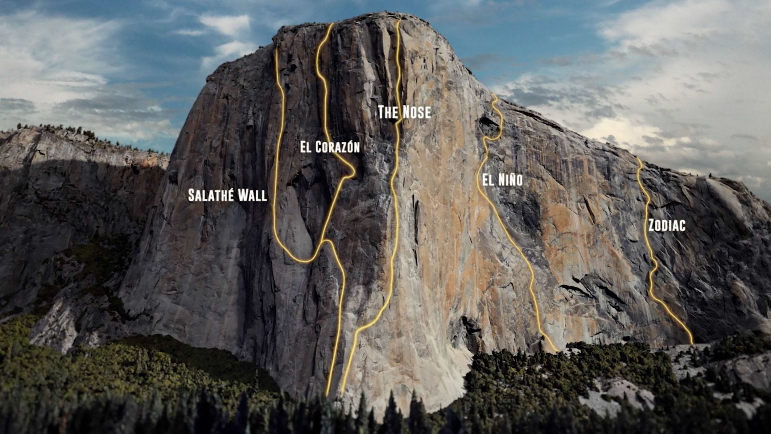 """image from the climbing documentary """"Dawn Wall"""" directed by Peter Mortimer and Josh Lowell"""