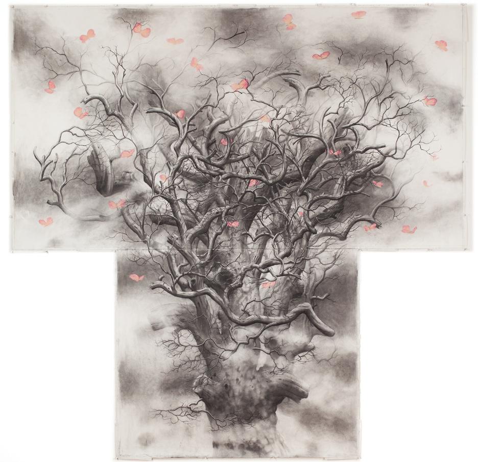 Tree #5 [Butterflies]