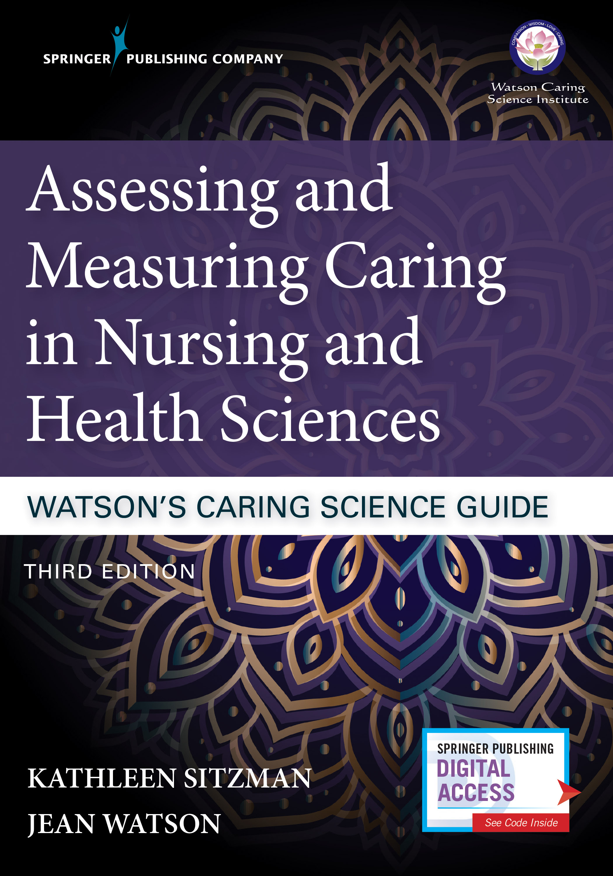 Assessing and Measuring Caring in Nursing and Health Sciences - TOOLS FOR FACILITATING CARING SCIENCE RESEARCHThis book is full of validated tools (for example surveys and questionnaires) that caring science researchers can use to explore caring in a wide range of professional environments when working with peers, clients, client families, and leadership teams.Buy Now from Publisher (20% off Coupon Code: SPC20FS)Click HERE to download the Publisher's FlyerBuy Now from Amazon