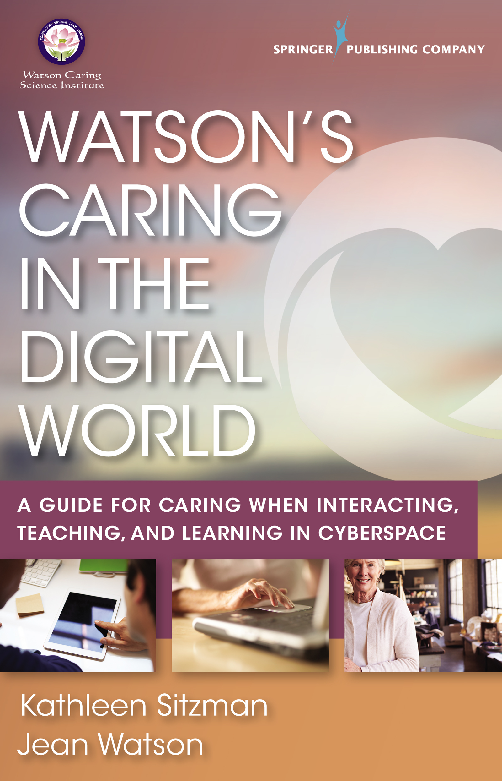 Watson's Caring in the Digital World - This book helps students, faculty, and professionals learn what it takes to convey and sustain caring in digital environments. Many universities, community colleges, and healthcare facilities make this a required reading for those who will be communicating with colleagues, patients, and students via phone, text, e-mail, or social media forums.Buy Now from Publisher (20% off Coupon Code: SPC20FS)Click HERE to download the Publisher's FlyerBuy Now from Amazon
