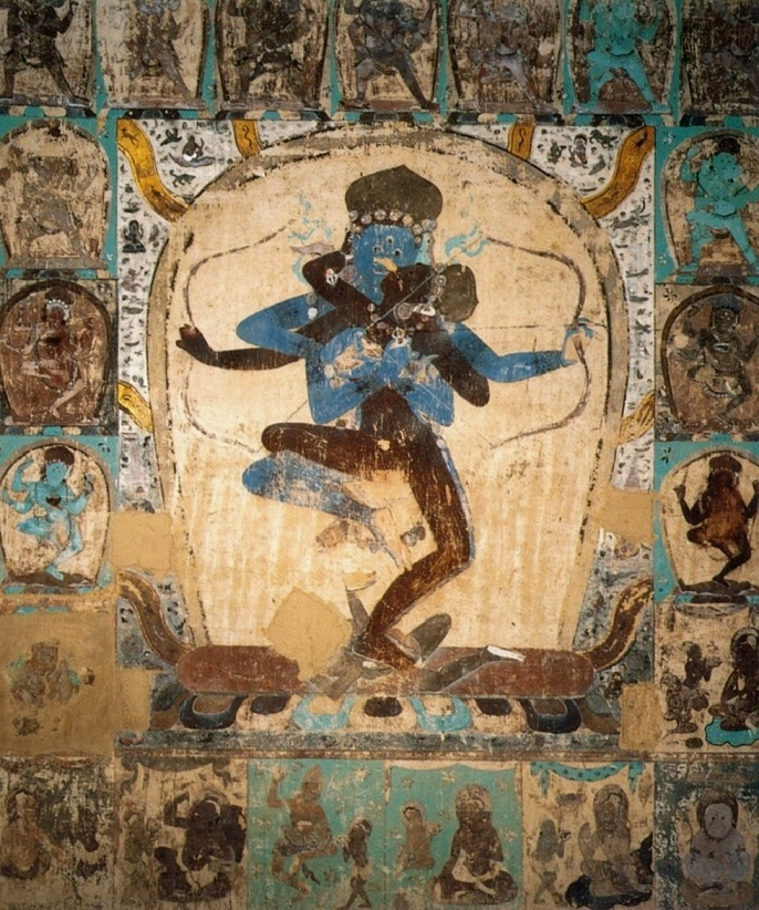 The Tantric image from Cave 465, Dunhuang. Yuan dynasty.