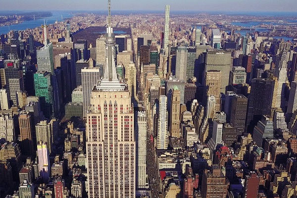 Midtown Manhattan looking north