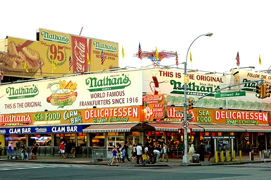 Coney Island/ Nathan's Famous!