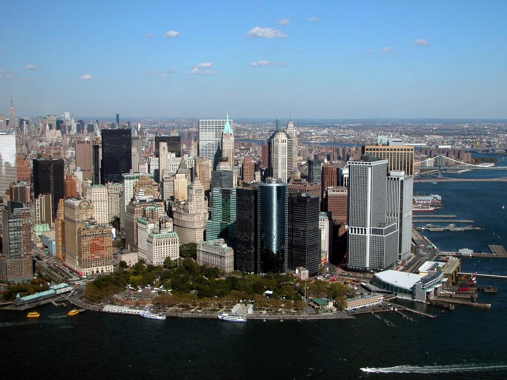New York's Battery Park (Fort Amsterdam 1625)