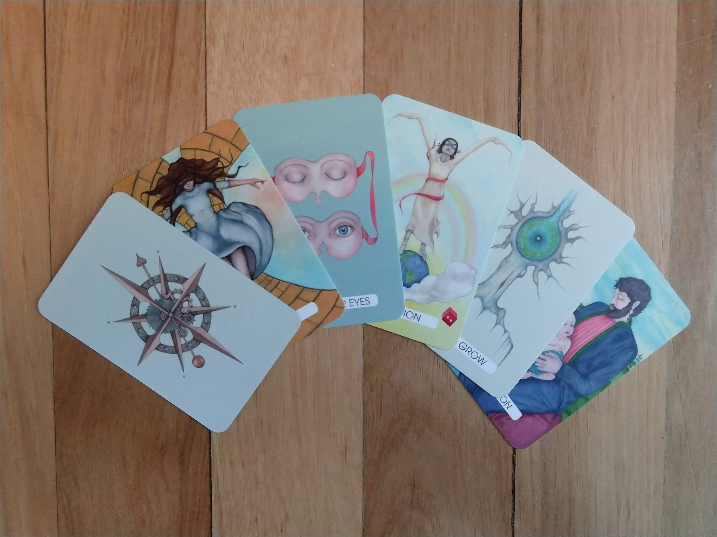 "Creativity Deck: Pocket Sized - 25 Cards (3.3"" x 2.16"")$20.00New!"