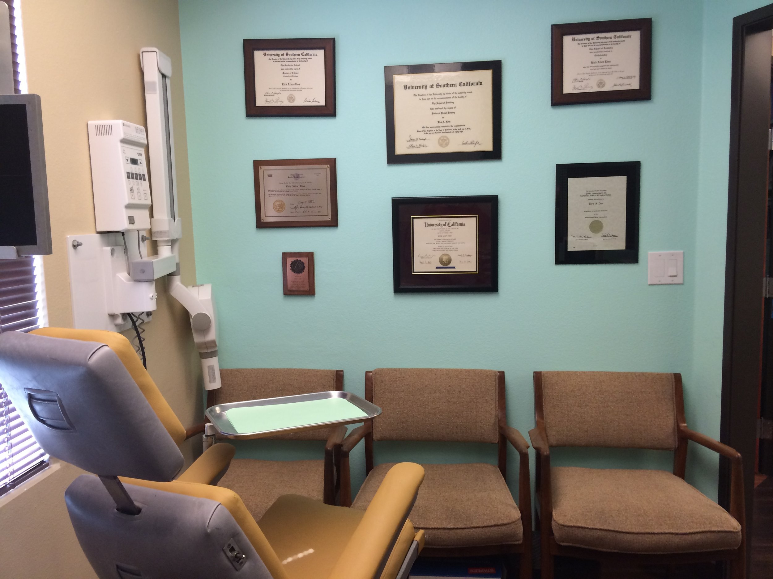 Clinical Exam and Records Area