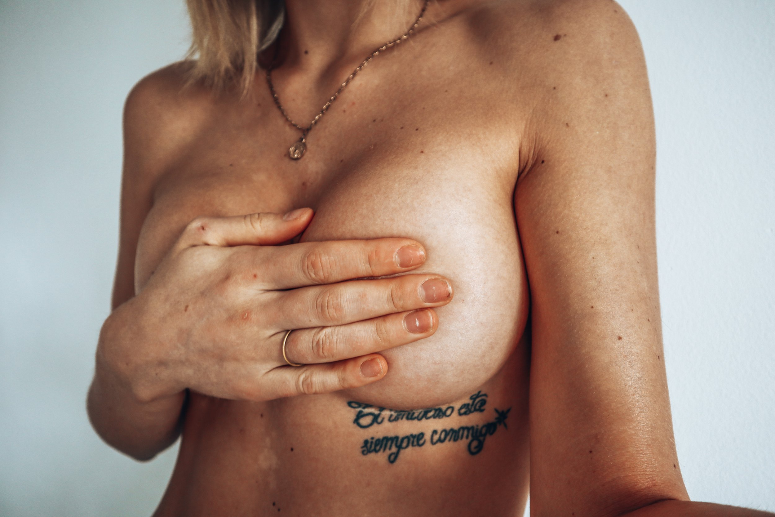 I'VE FOUND A LUMP IN MY RIGHT BREAST -