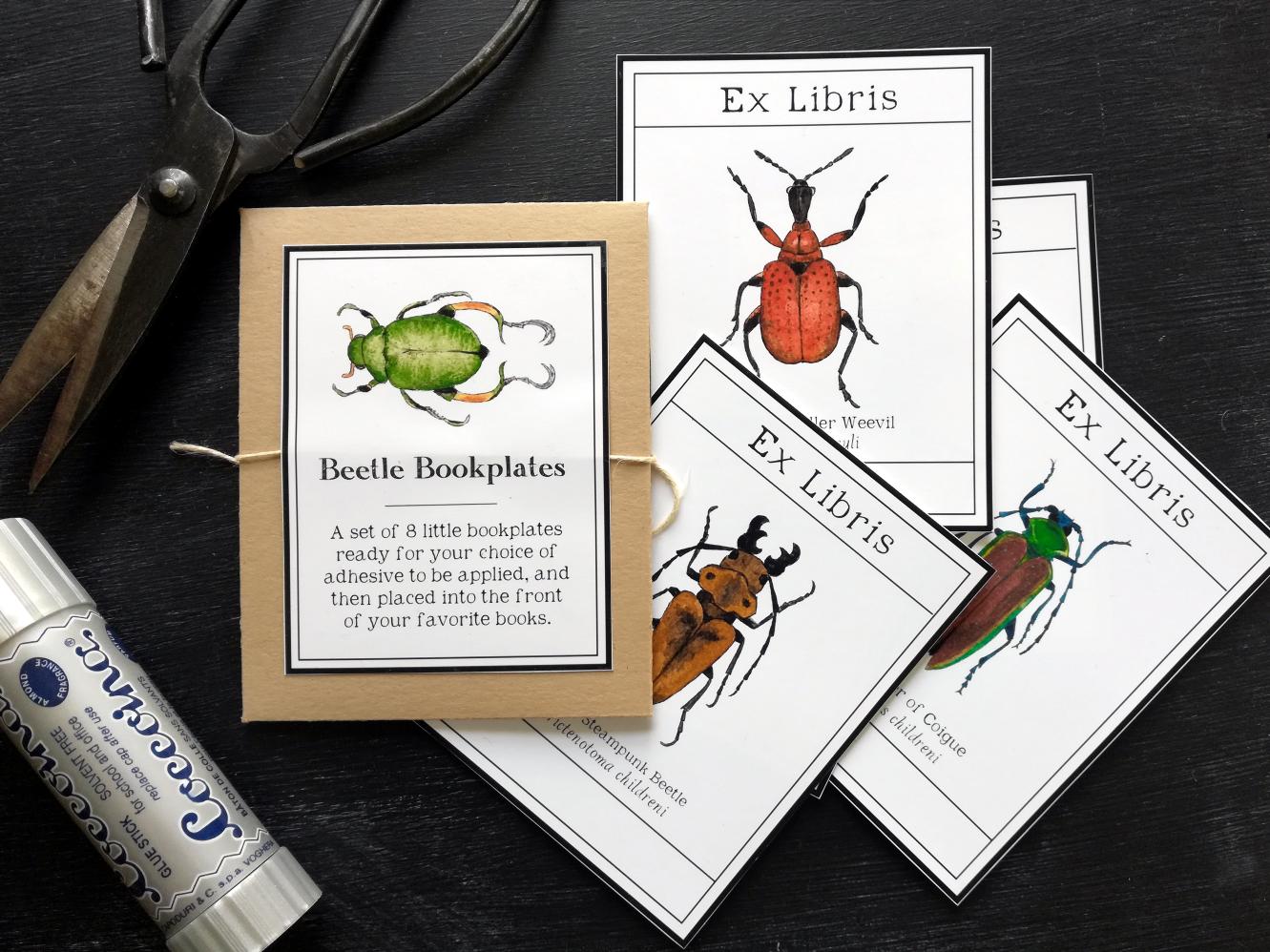- Beetle Bookplates