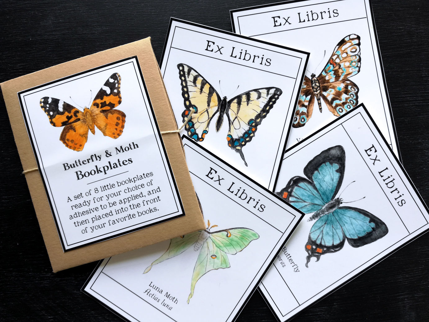 - Butterfly & Moth Bookplates