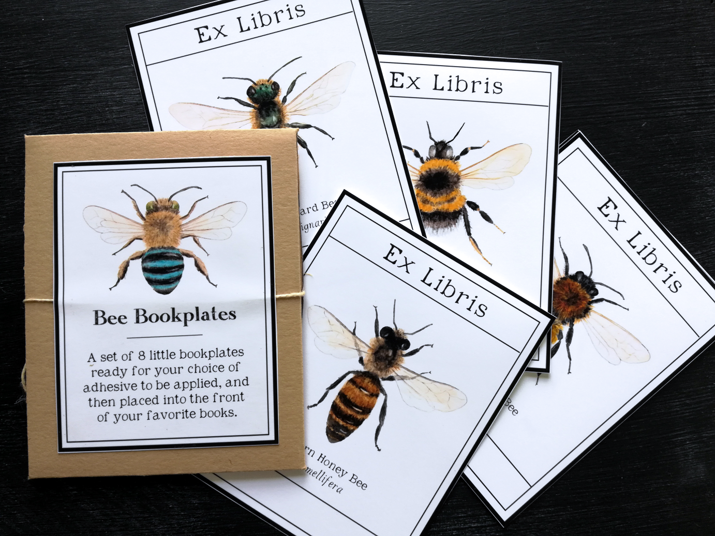 - Bee Bookplates