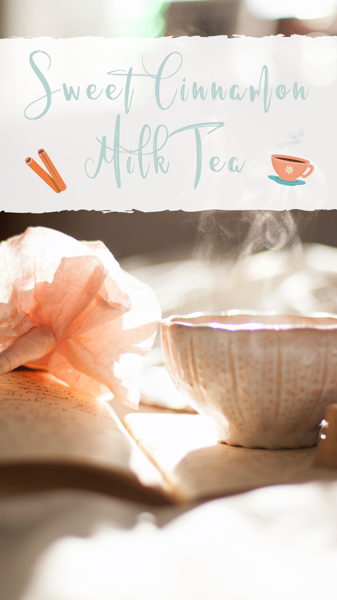 Sweet Cinnamon Milk Tea would also be the perfect addition to a self care or moon ritual!