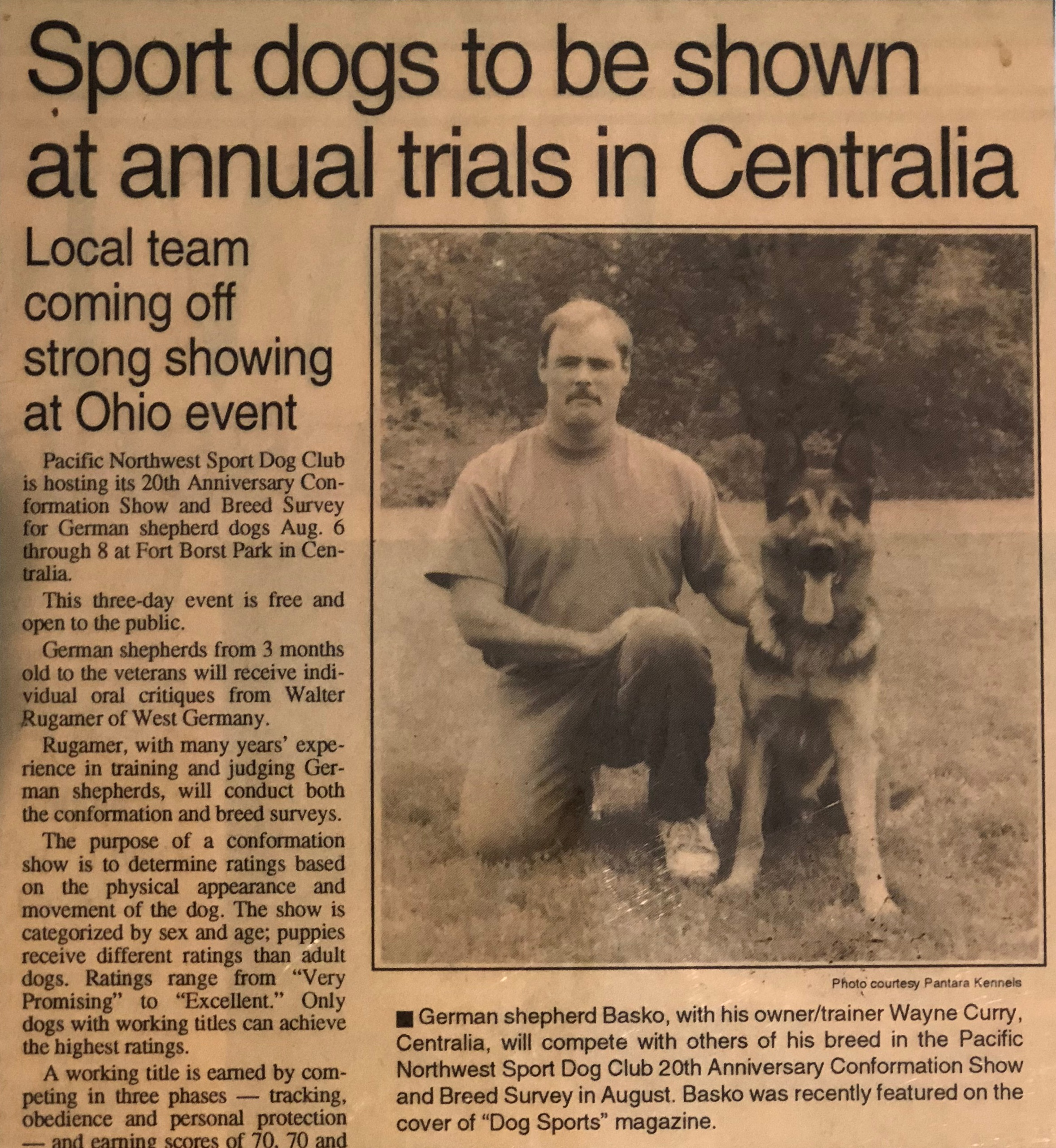 Read the full article - Chehalis July 28th 1993