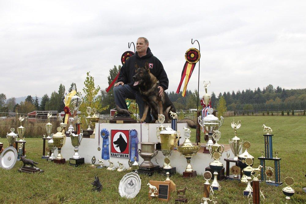 American Champion Breeder of German Shepherds - Wayne Curry.