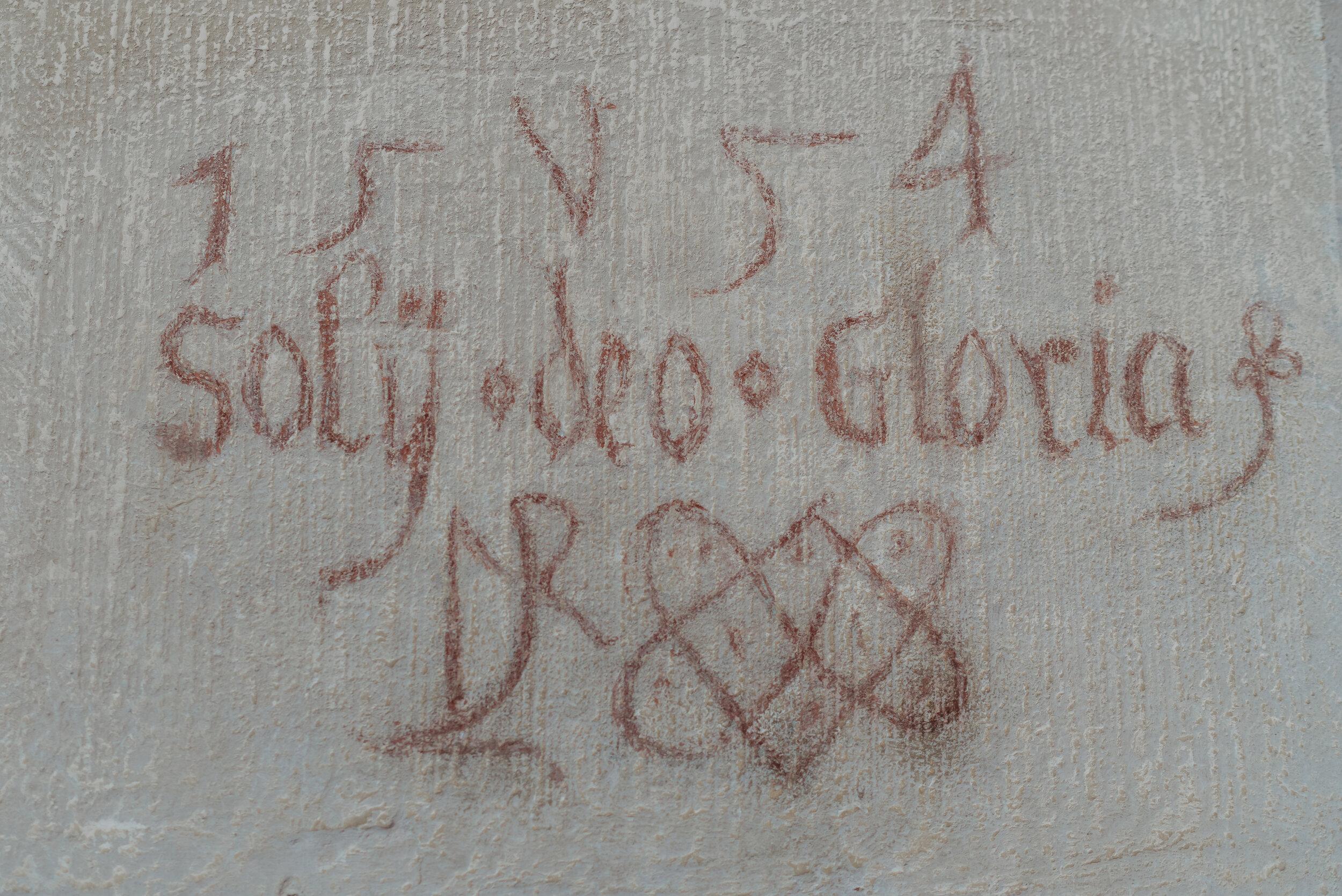 "1554 ""Glory to God Alone""  TR"