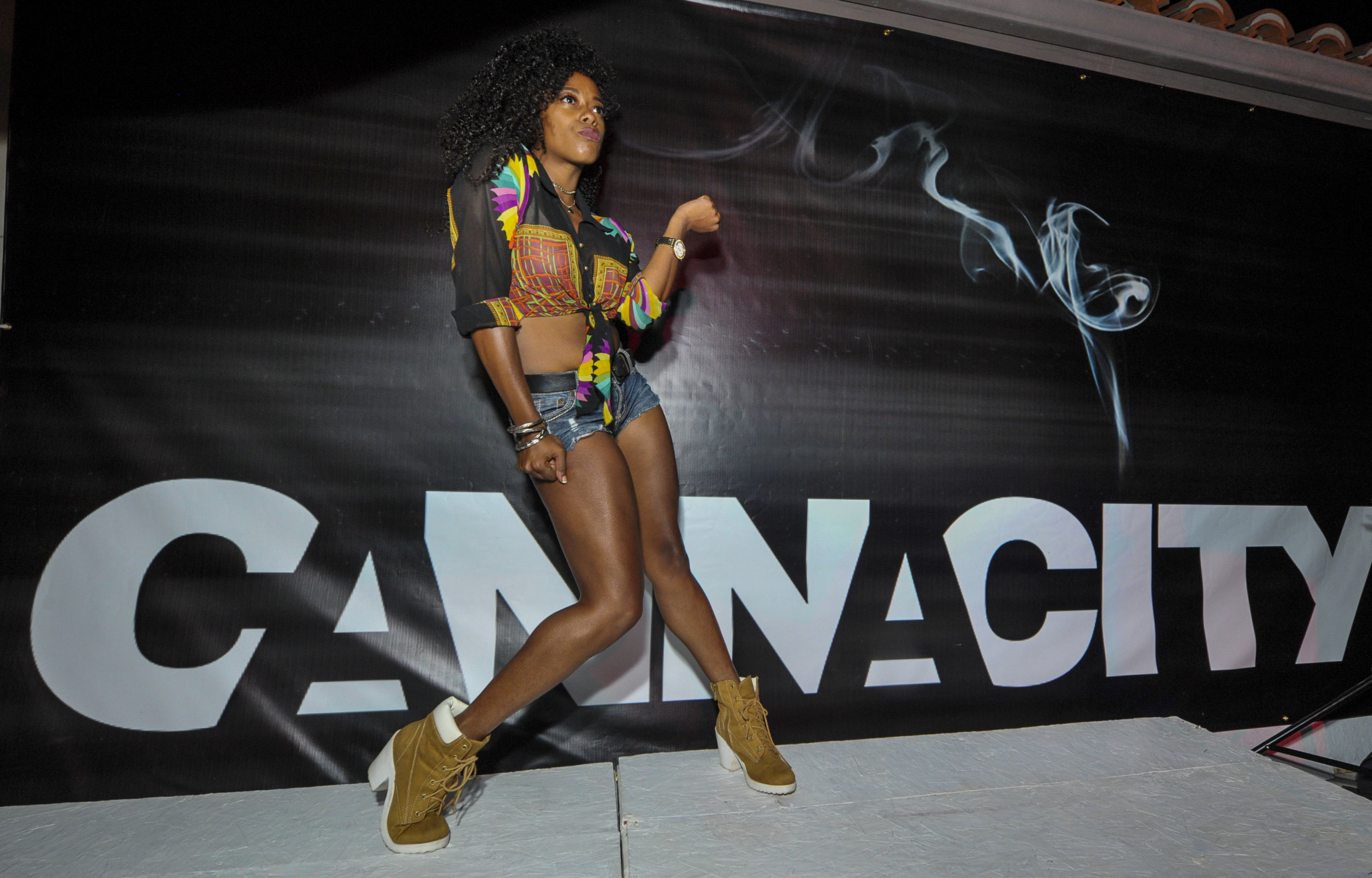 Delila Outlaw at Welcome To Cannacity