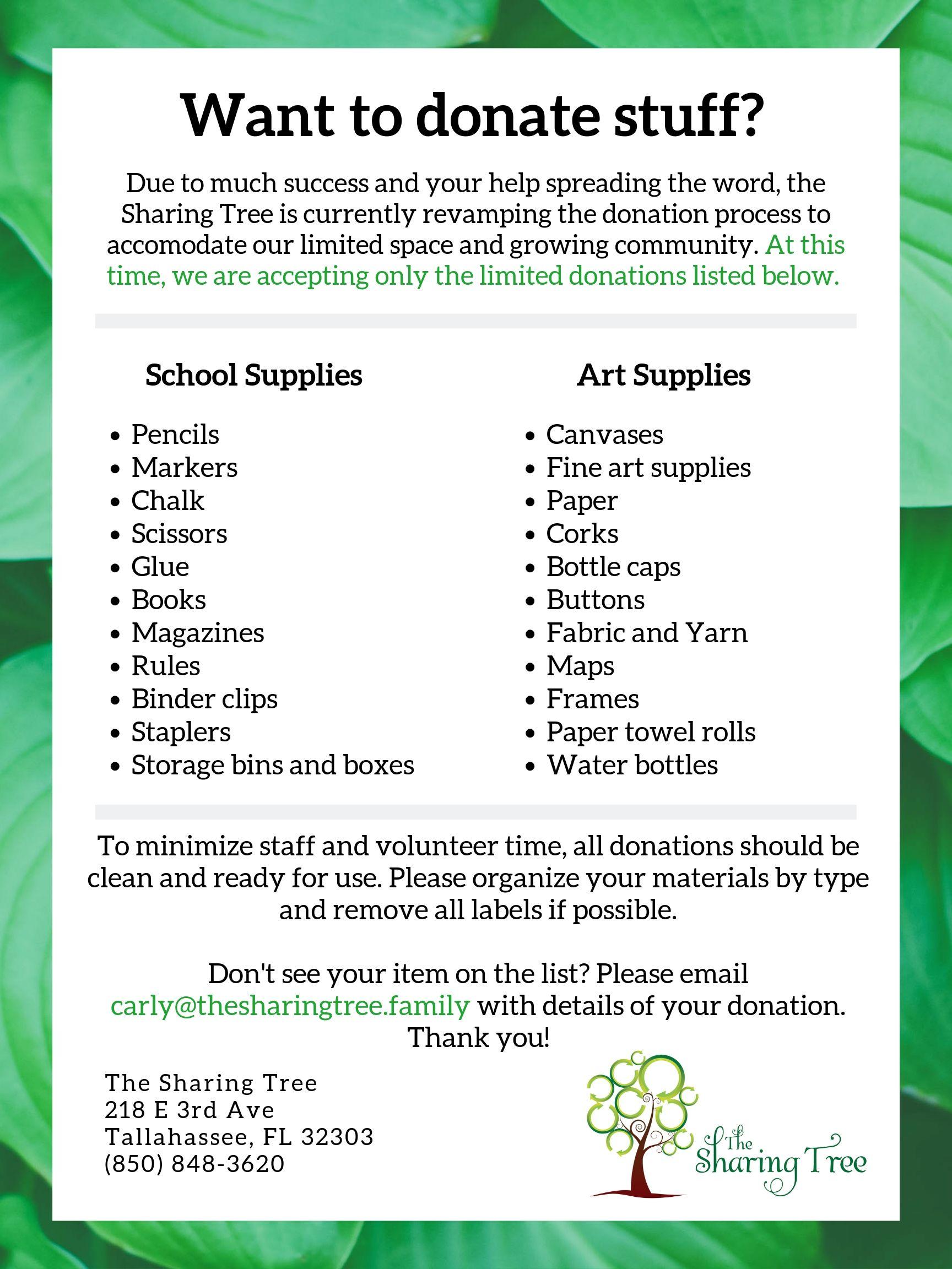 The Sharing Tree Donations List.jpg