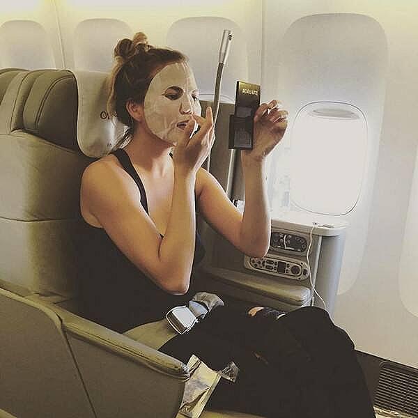 "Chrissy ""masks on a plane"" Teigen"