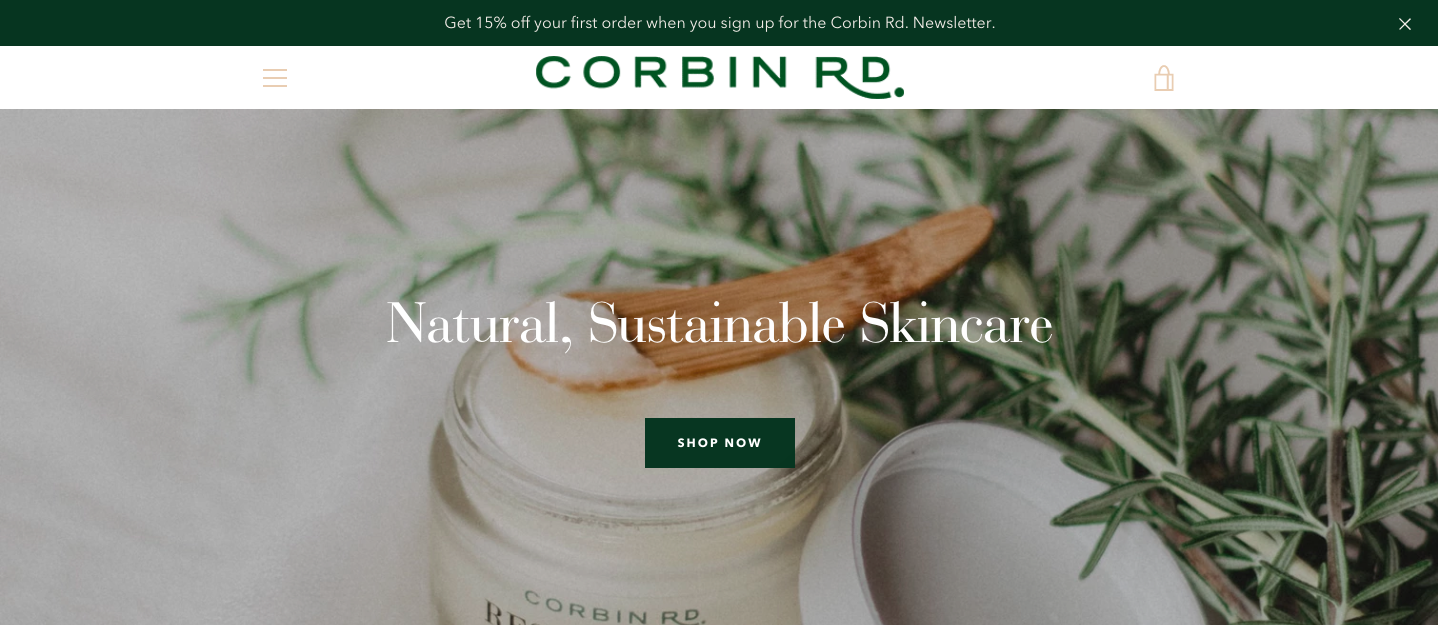 Corbin Rd. - This website was a dream to create. The images are beautiful and the product is amazing. Wendy, needed a new site fairly quickly as the old one wasn't performing well and the CMS was proving to be inefficient. I created this website on Shopify and integrated with some amazing apps to enhance end user experience and streamline the process in-house.