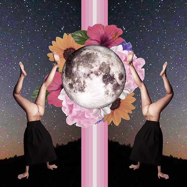 Create your own balance . . . #balance #collage #art #heart #cosmiccollage #symetrie #montreal #quebec #create #creativity #passion #collage #dreamincollage #dreamcollage