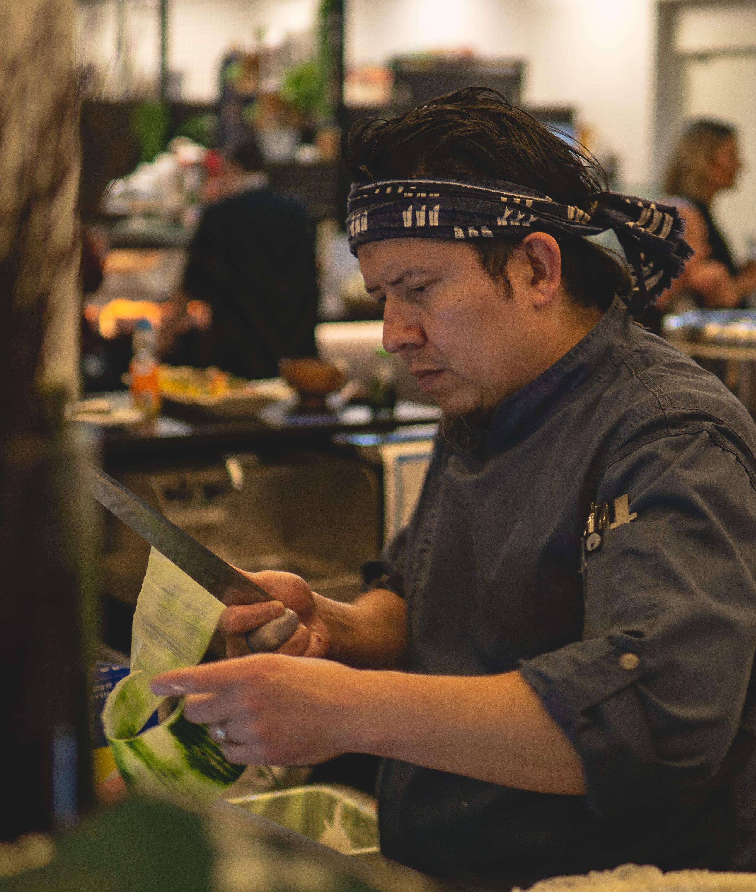 About Chef Jesusio Silva -