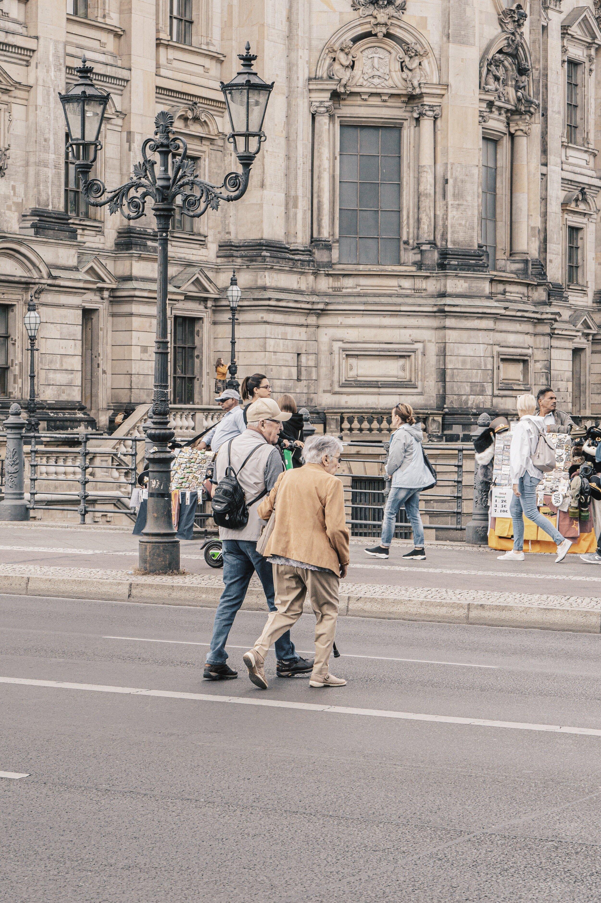 Berlin Crossing the streets.JPG