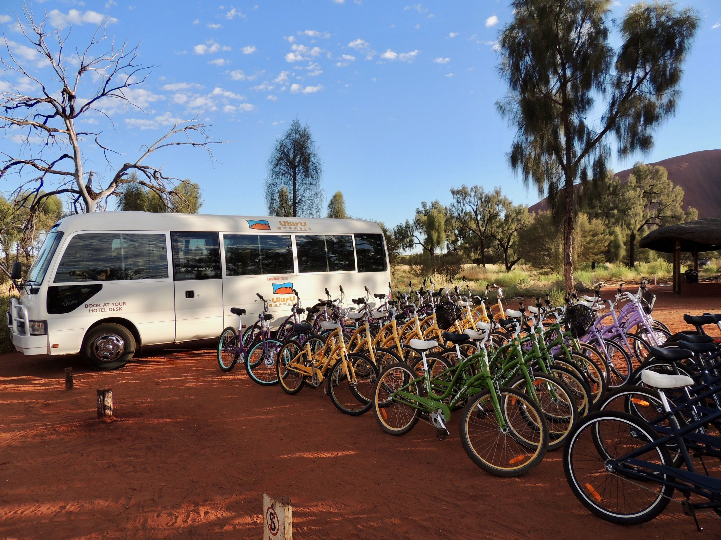 Uluru Bike Ride including Transfers