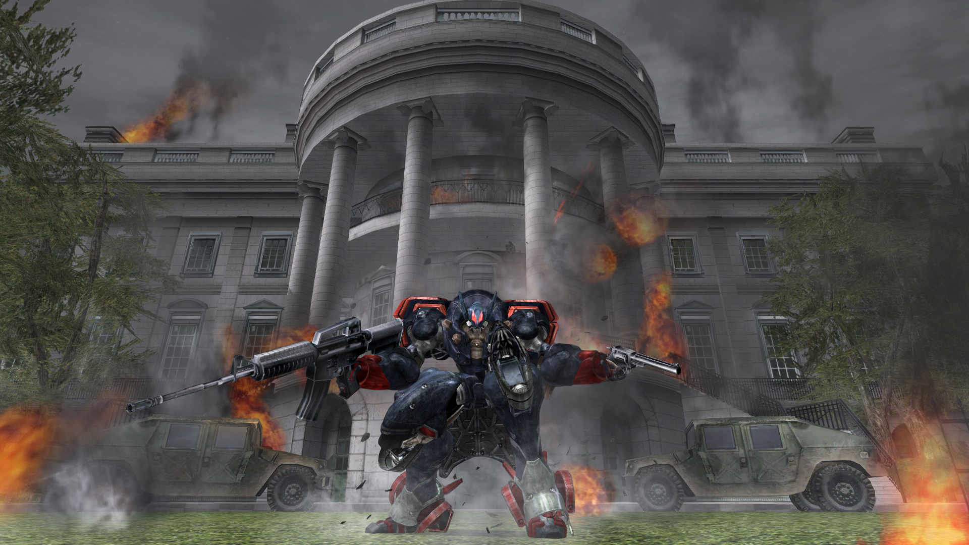 Metal Wolf Chaos XD - Screen 1.png