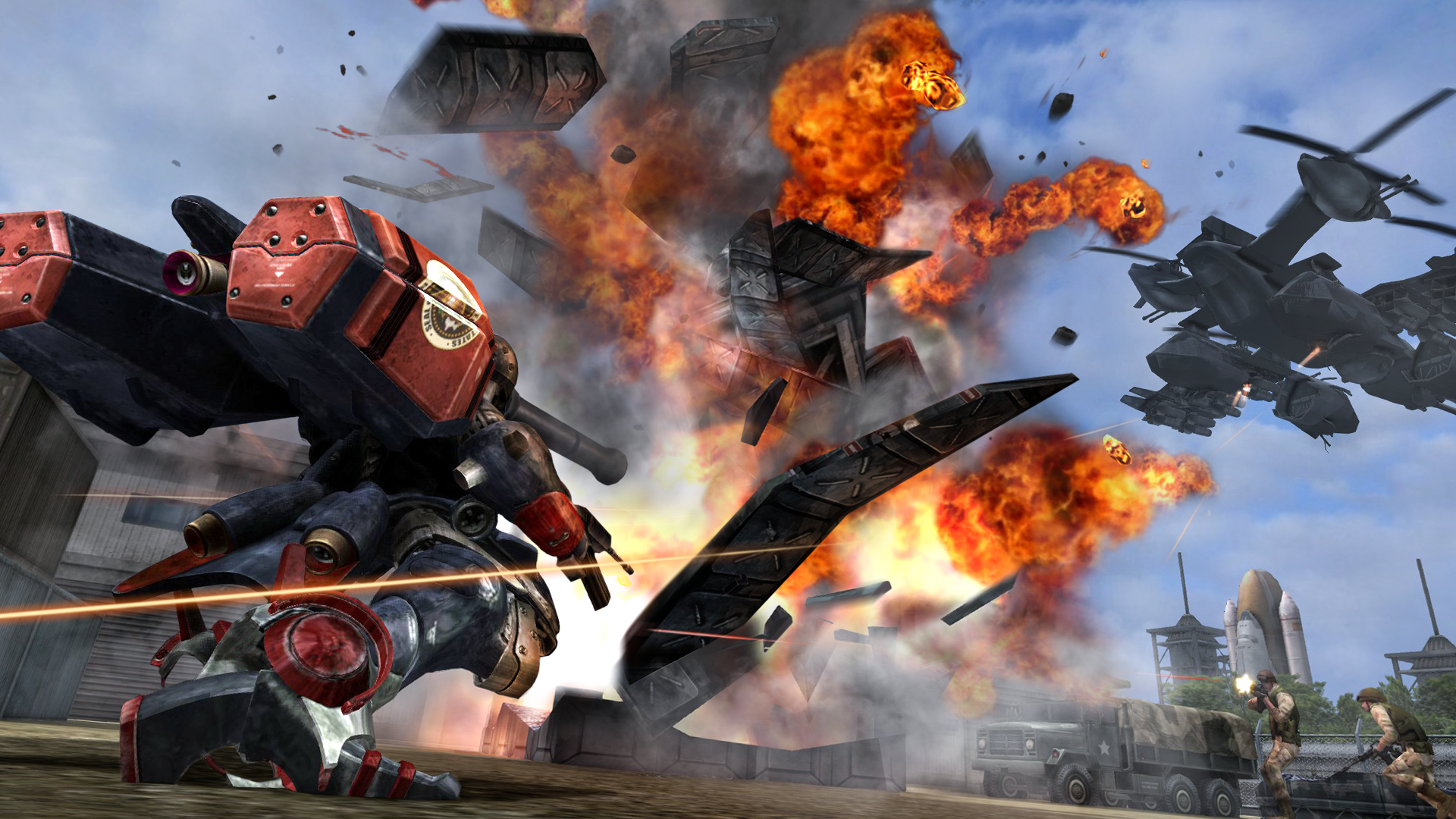 Metal Wolf Chaos XD - Screen 5.png