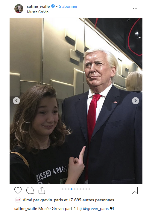 Instagram Donald Trump Alain Ducasse wax sculpture hyper realistic.PNG