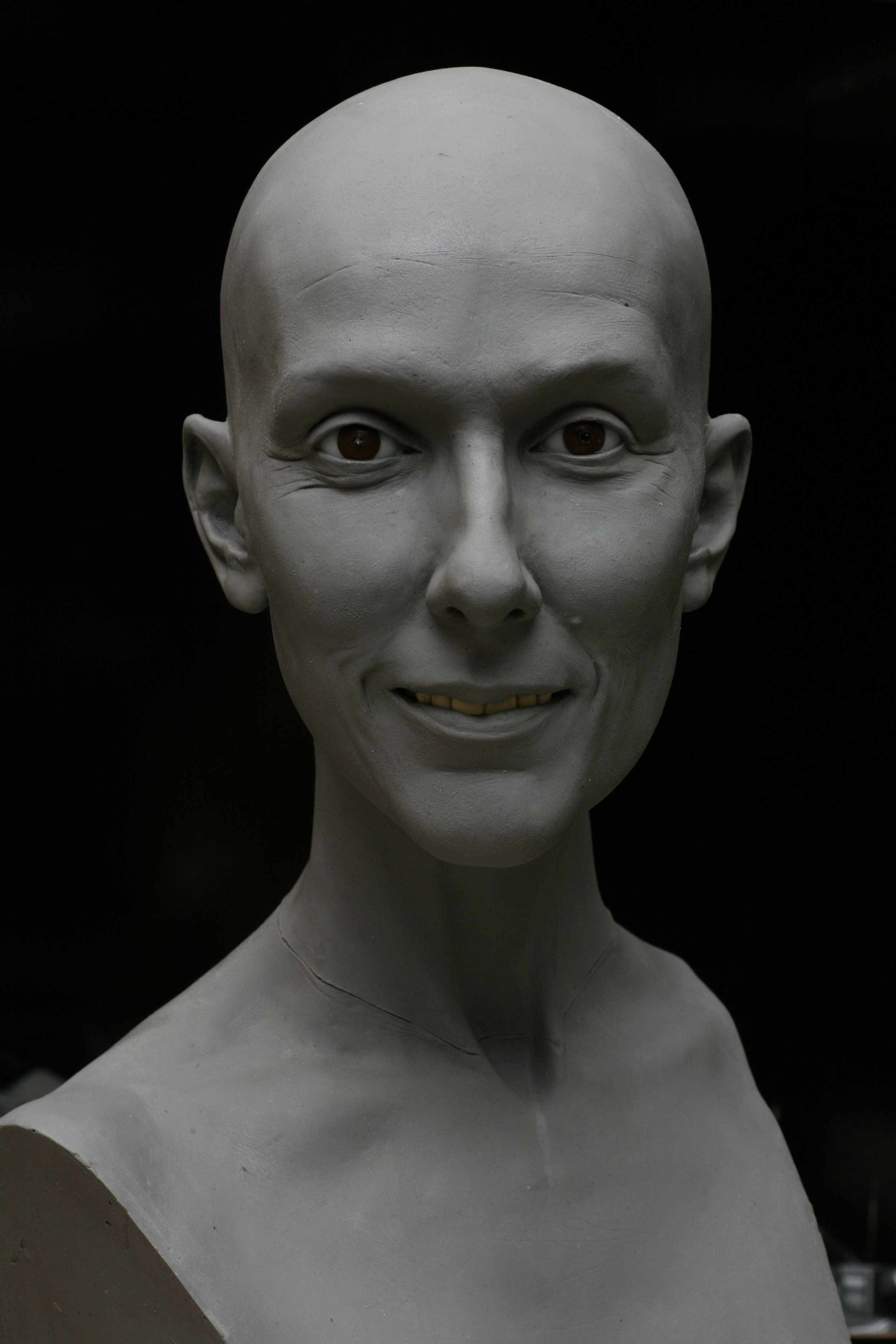 Celine Dion - Clay sculpture by Eric Saint Chaffray - Credit Musée Grévin